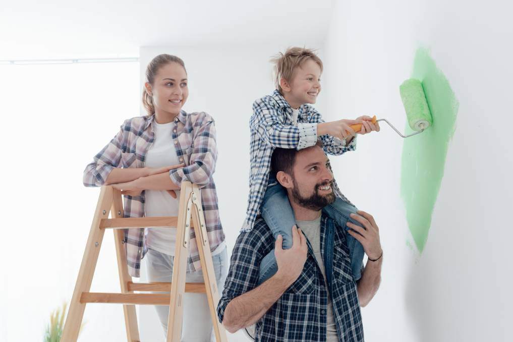GET FRESH: Painting delivers real bang for your buck. Photos: Shutterstock